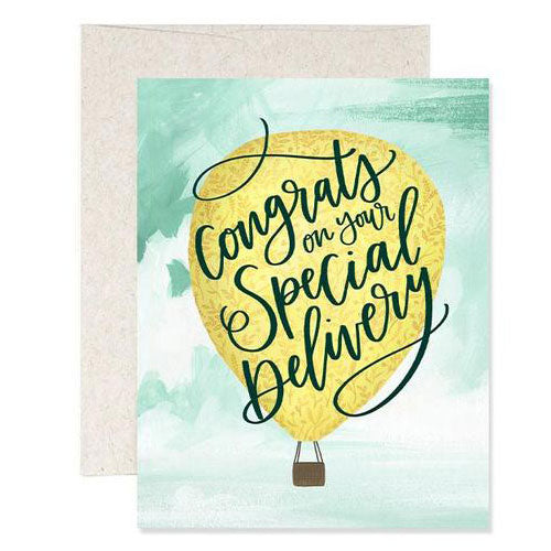 Special Delivery Balloon Card