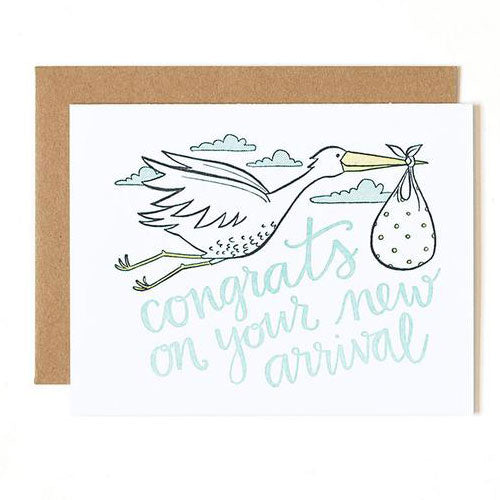Stork Special Delivery Card