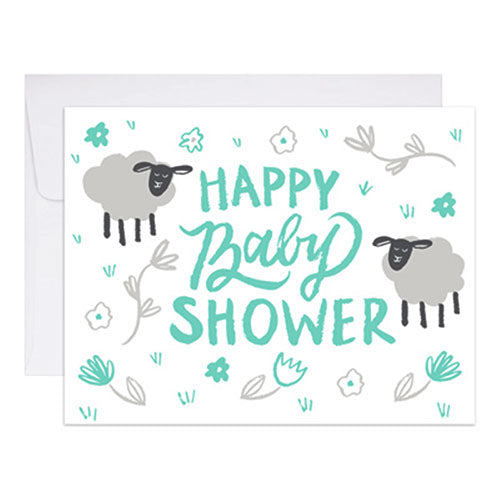 Ba-Ba Baby Shower Card