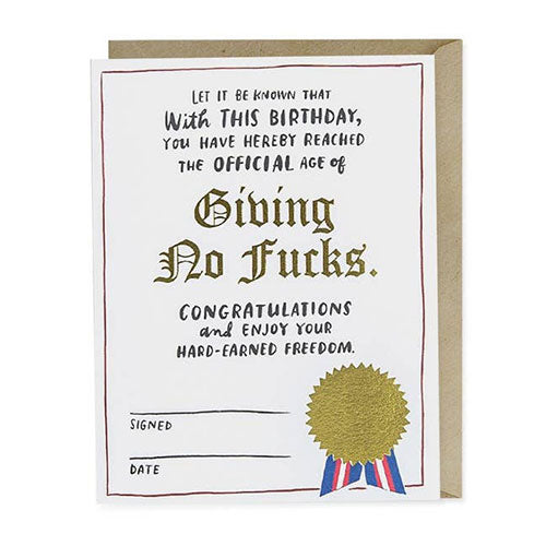 Birthday Decree