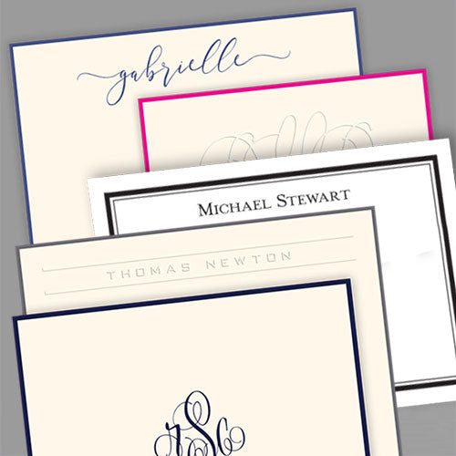 Embossed Graphics Personalized Stationery
