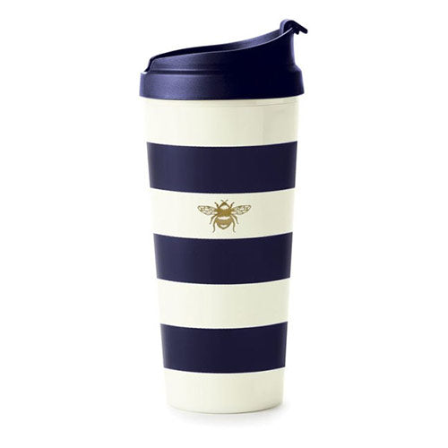 Kate Spade Striped Thermal Mug