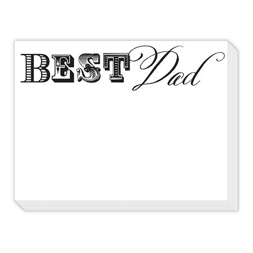 Best Dad Notepad