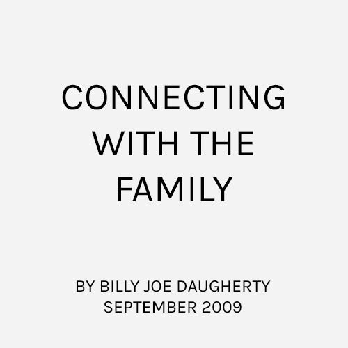 Connecting With The Family