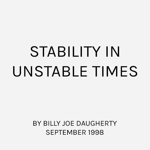 Stability in Usable Times