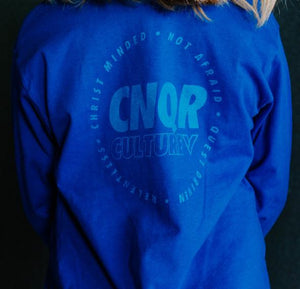 YOUTH BLUE CNQR LONG SLEEVE