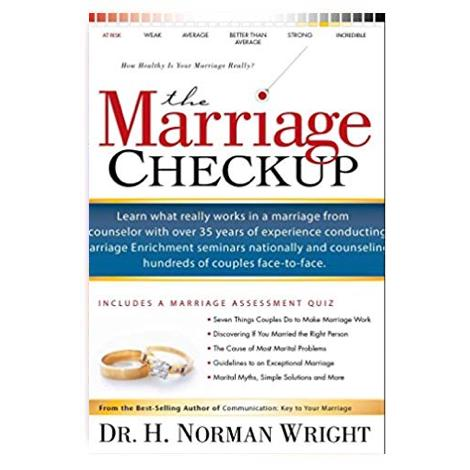 MARRIAGE CHECKUP