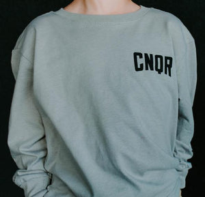 TODDLER GRAY CNQR LONG SLEEVE