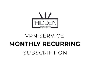 Monthly Recurring VPN Subscription