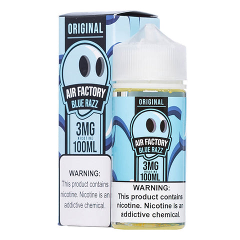 Air Factory Blue Razz 100ml Only $15.99