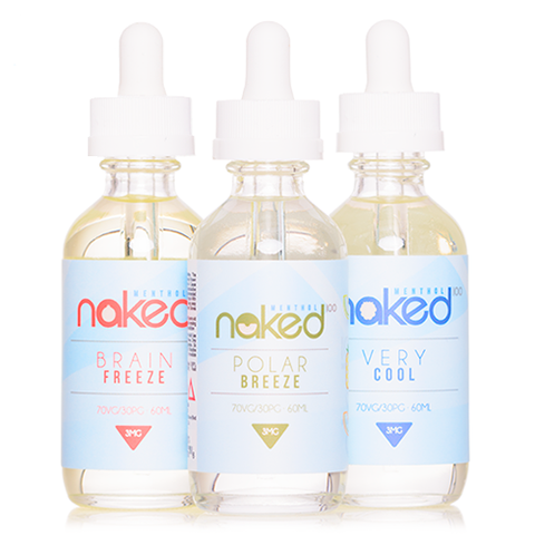 Naked 100 Menthol 3 Bottle Pack