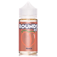 Rounds Ice Juicy Peaches Ice eJuice