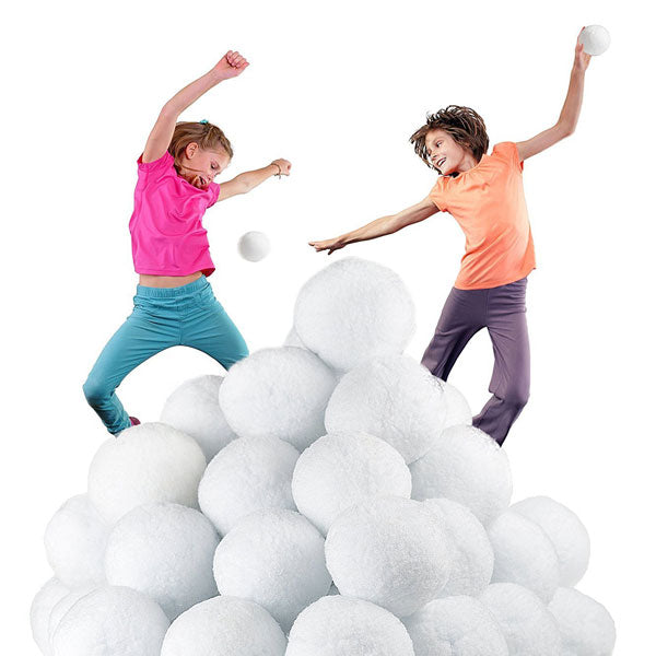 XL 50 Pack of Large Snowballs for Indoors