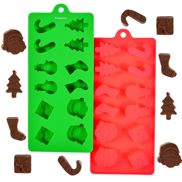 Silicone Christmas Moulds 24 Shapes