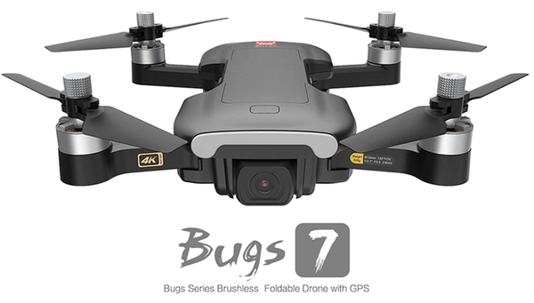 Best Drone in 2020! MJX Bugs B7 GPS 4K Camera Drone. 249 grams. GPS. Brushless Motor