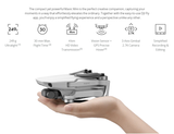 NEW ARRIVAL!! DJI Mavic Mini Fly More Combo 4KM FPV with 2.7K Camera 3-Axis Gimbal 30mins Flight Time 249g