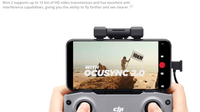 DJI Mini 2 Fly More Combo with 4K zoom camera. Supports up to 10 km of HD video transmission