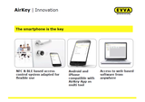 EVVA AIRKEY SMART CYLINDER LOCK - YOUR SMARTPHONE is THE KEY!!