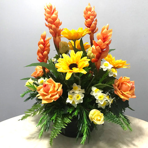 A120 Artificial Flower Arrangement