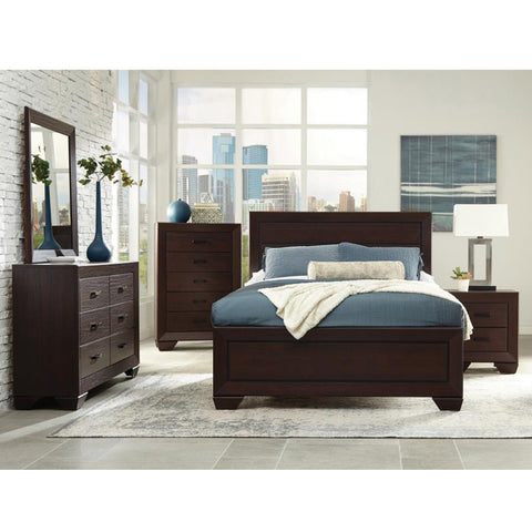 Fenbrook Transitional 4PC Queen Bed Set (Local Pick up only)