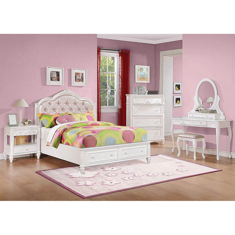 Caroline Storage Twin 5PC Bed Set (Local Pick up only)