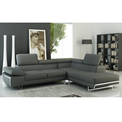KOKUSA 12965 Sofa Sectional italian leather