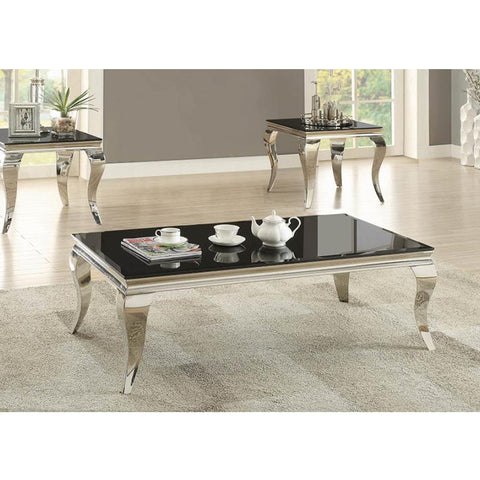 Abildgaard Contemporary Black Coffee Table (Local pick up only)