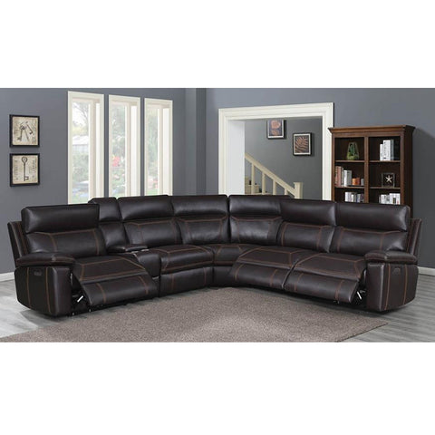 Albany 6PC Modular Power2 Reclined Sectional (Local pick up only)