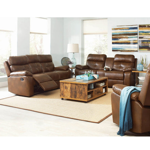 Damiano 11601691-S2 Motion Sofa + Loveseat Set (Local pick up only)
