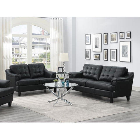 Freeport 11508631-S2 2-Piece Living Room Set Black (Local pick up only)