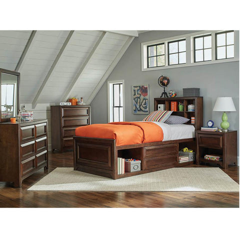 Greenough Transitional Storage Bed Collection (Local Pick up only)