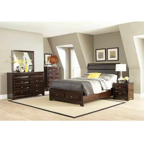 Jaxson Transitional 4PC Queen Bed Set (Local Pick up only)