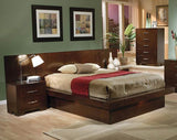 Jessica Cappuccino Platform Bed Collection (Local Pick up only)