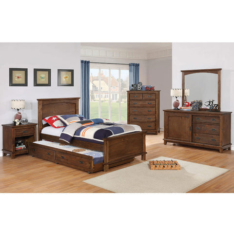 Kinsley Rustic Bed Collection (Local Pick up only)