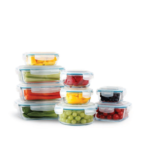 Neoflam 18pc Glass Container