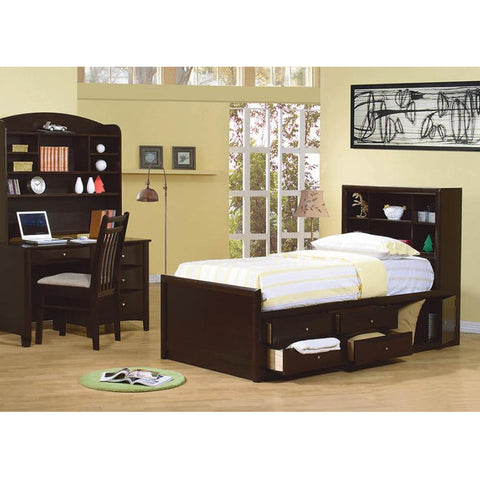 Phoenix Bookcase Bed Collection (Local Pick up only)