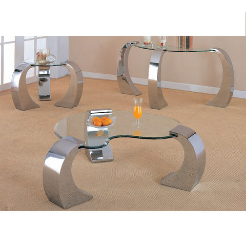 Romanus Contemporary Silver Coffee Table (Local pick up only)