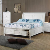 Selena Storage Twin Bed 5PC Set (Local Pick up only)