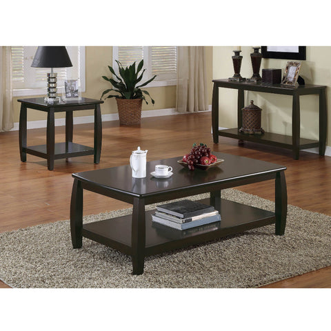 Willemse Wood Top Cappuccino Coffee Table (Local pick up only)