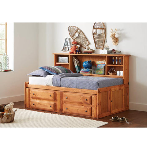 Wrangle Hill Amber Wash Twin Daybed (Local Pick up only)