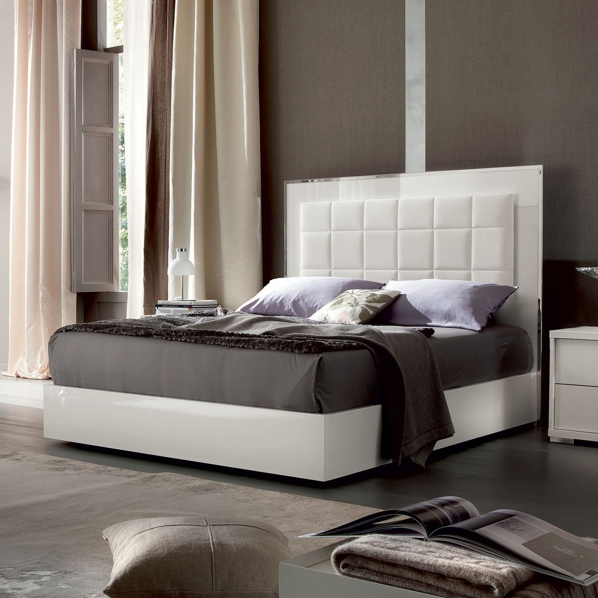 ALF Imperia bed white