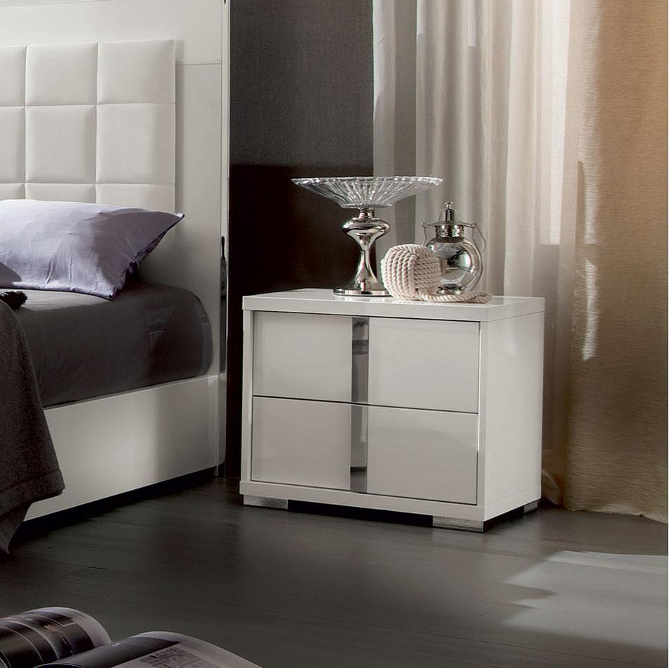 ALF Imperia nightstand white