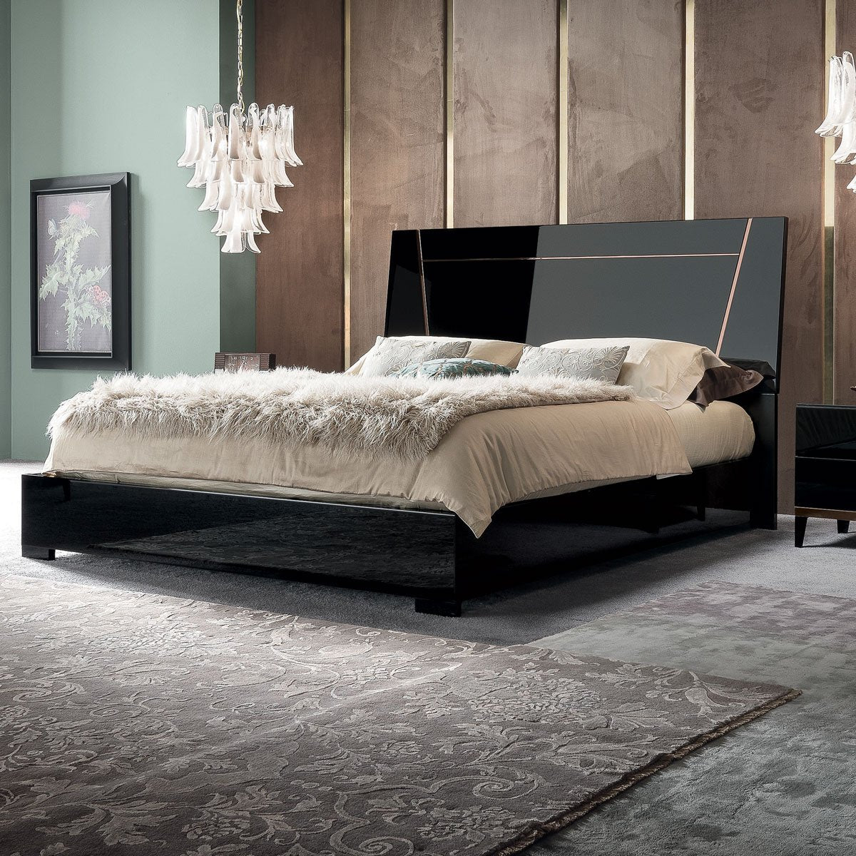 ALF Mont Noir Bed black