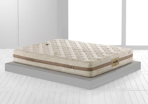 "Magniflex Toscana Cotton Caresse Dual 9"" Firm Italian Mattress"