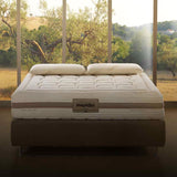 "Magniflex Toscana Cotton Caresse Dual 10"" Medium Italian Mattress"