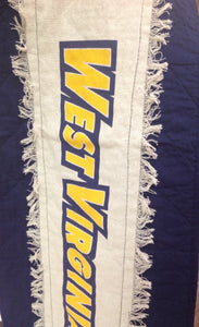 WVU table runner - Homestead House