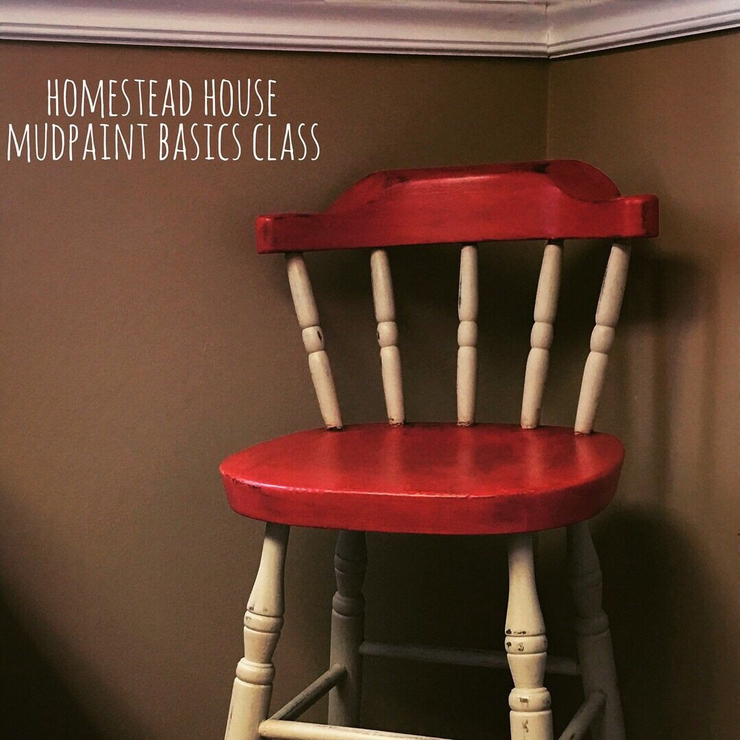 Mudpaint Furniture Class, Feb.17 - Homestead House
