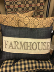 Farmhouse pillow - Homestead House
