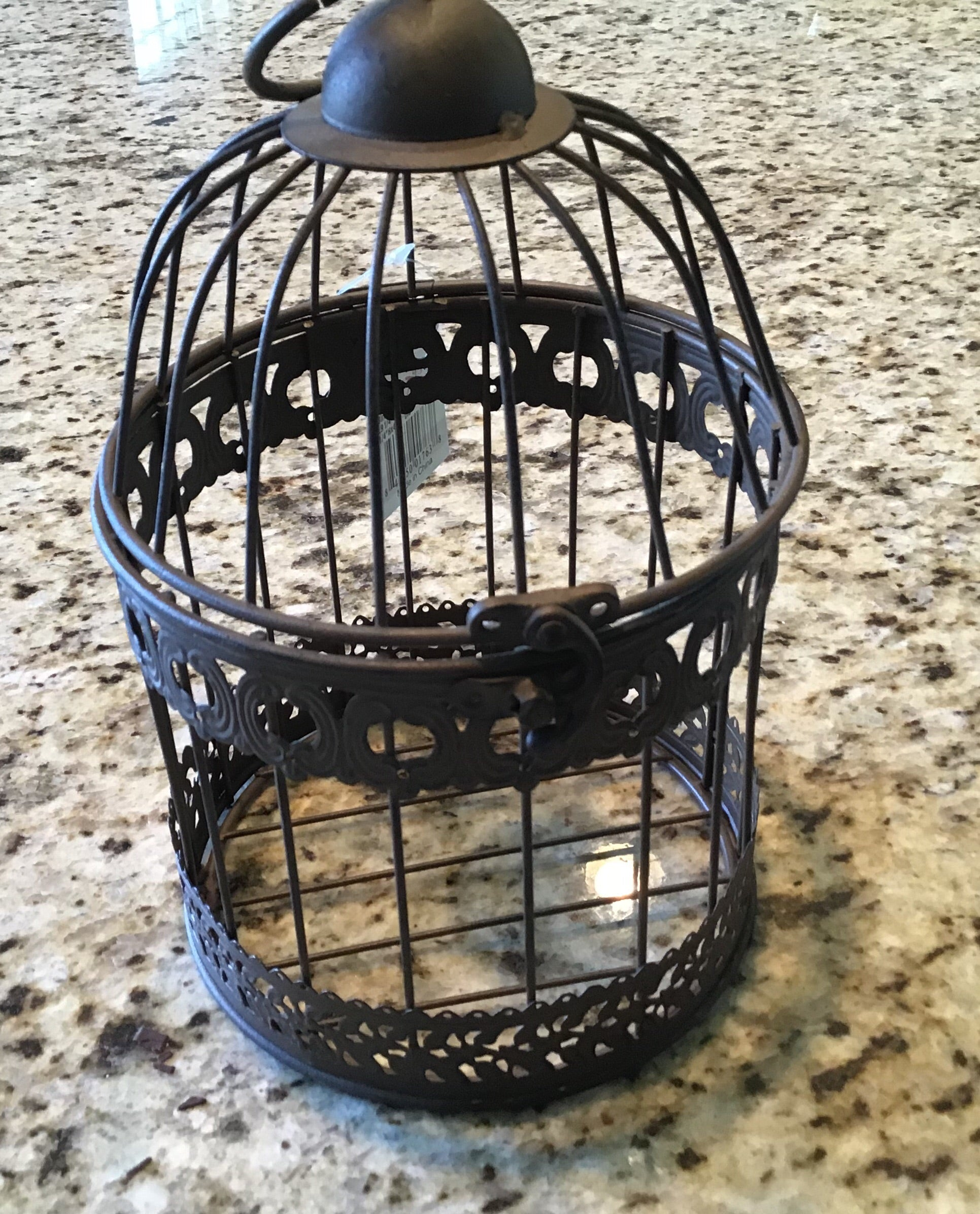 Decorative Birdcage/ candle holder - Homestead House