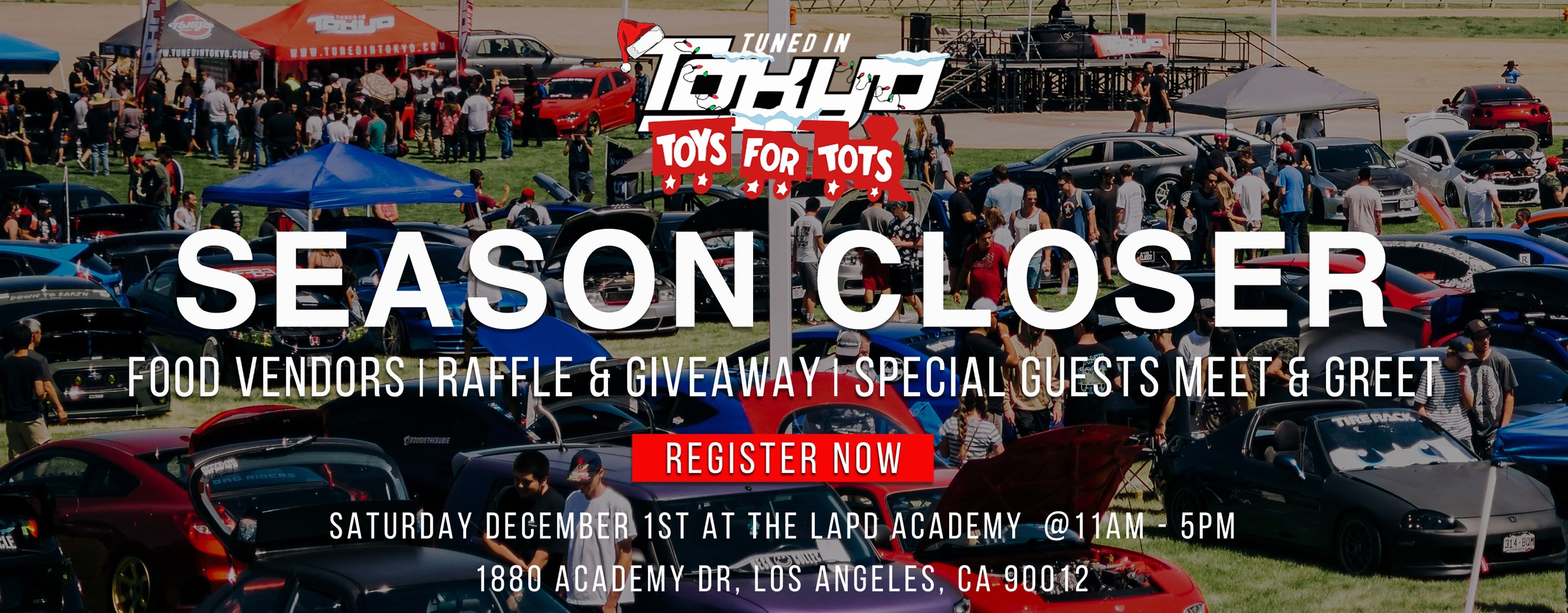 Toys For Tots Tunedintokyoevents - Toys for tots car show 2018